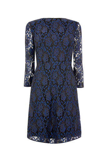 Oasis, NTU LACE LONG TWO TONE SHIFT Multi Blue 0