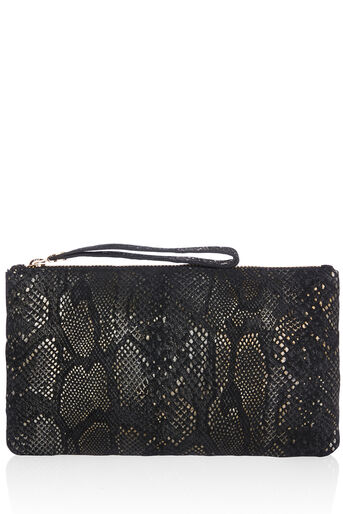 Oasis, LEATHER LILY DISTRESSED PURSE Gold 0