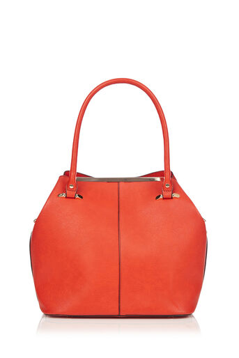 Oasis, TOPSY TOTE BAG Mid Orange 0