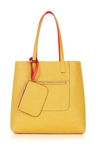 Oasis, Renee Reversible Shopper Multi Orange 0