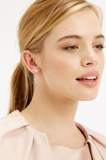Oasis, PAVE TRI UNDER EAR Gold 1