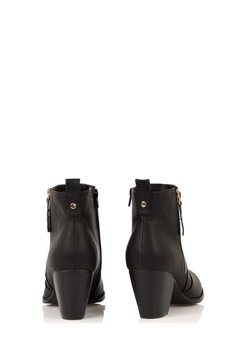 Oasis, ABIGAIL ANKLE BOOT Black 4