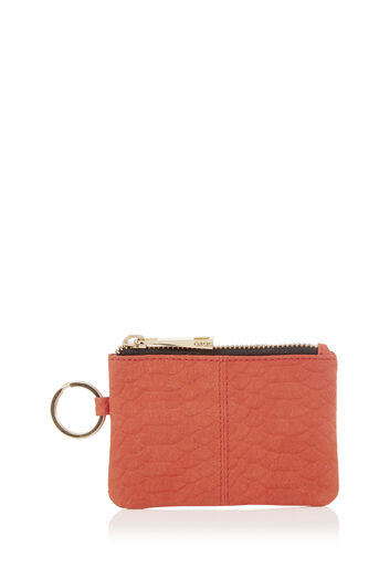 Oasis, LEATHER COIN PURSE Mid Orange 0