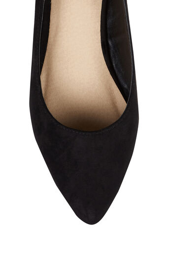 Oasis, ANKLE TIE FLATS Black 3