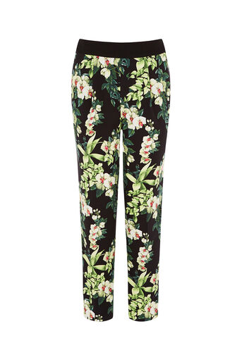 Oasis, TROPICAL BOTANICAL TROUSERS Multi 0