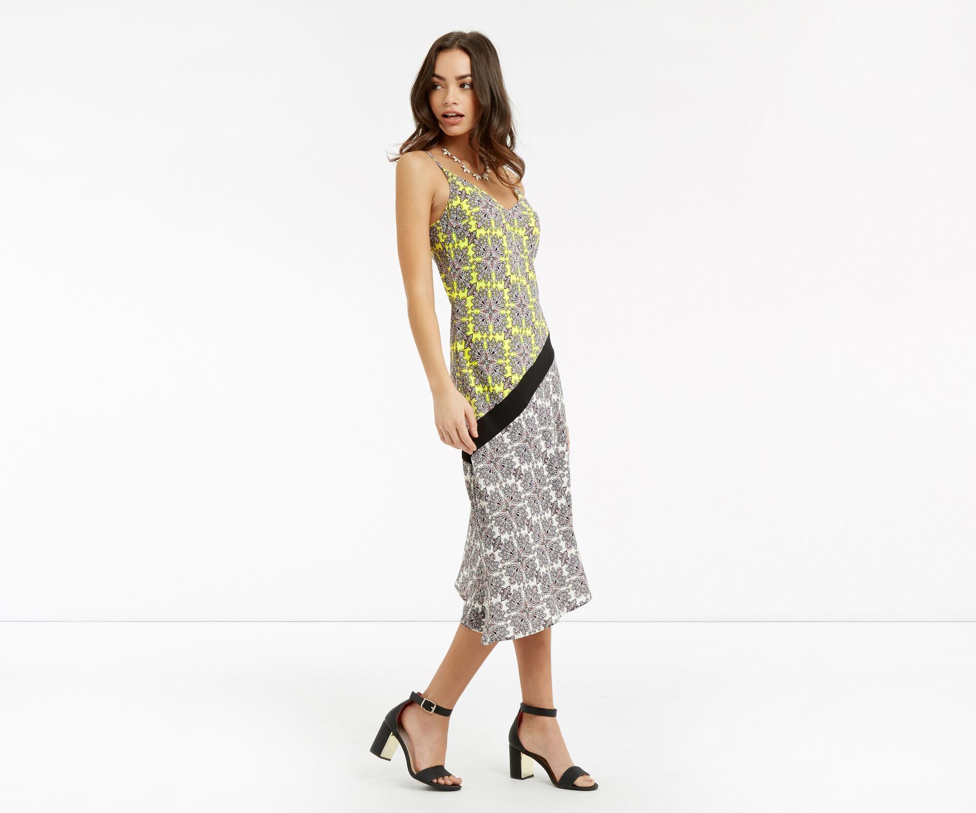 Oasis, Sintra Tile Midi Dress Multi 1