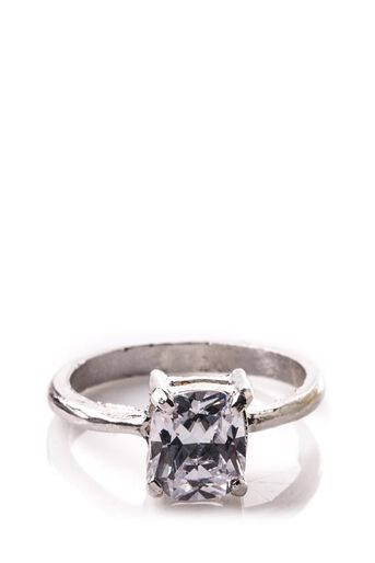 Oasis, SOLITAIRE RING Silver 0