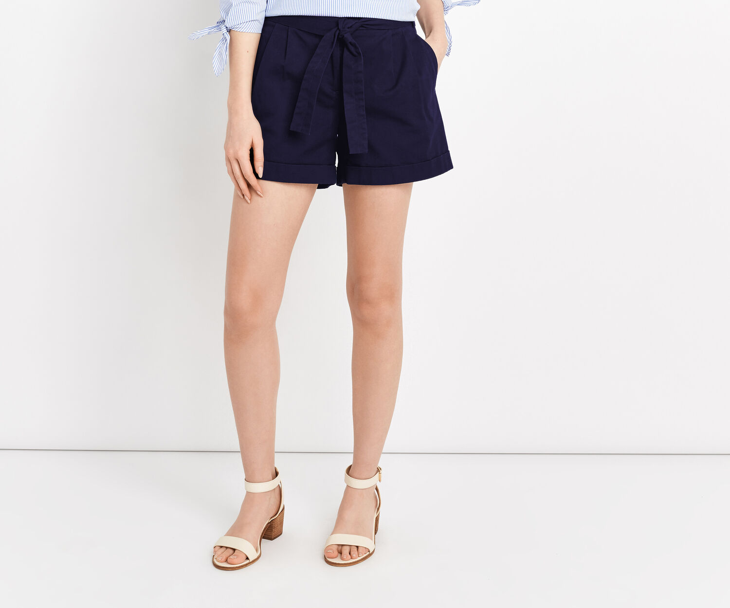 Oasis, CASUAL SHORT Navy 1