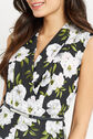 Oasis, WILD FLORAL PLAYSUIT Navy 4