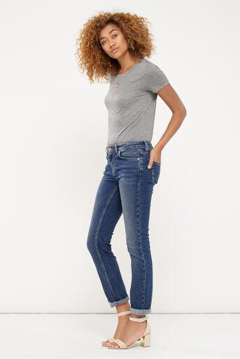Oasis, Daisy straight leg jean Denim 2