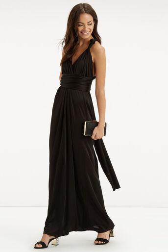Oasis, The Wear it Your Way Dress Black 2