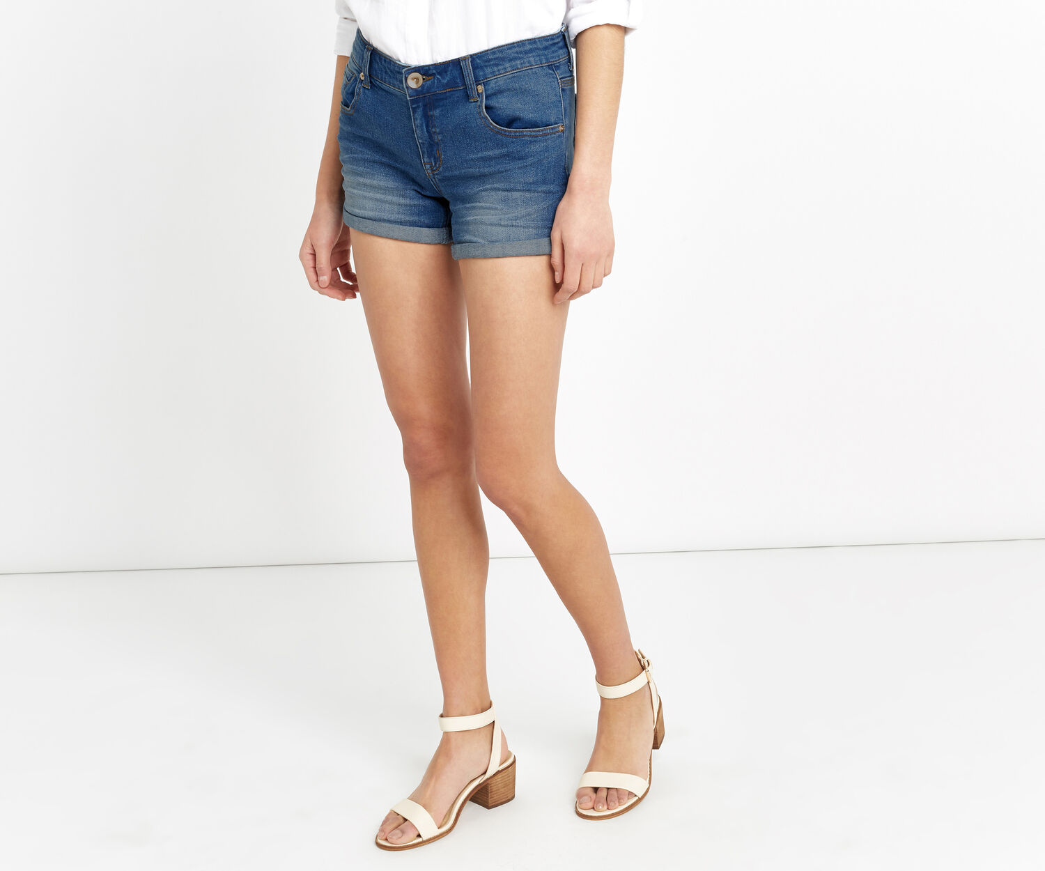 Oasis, MILLIE DENIM SHORT Denim 1