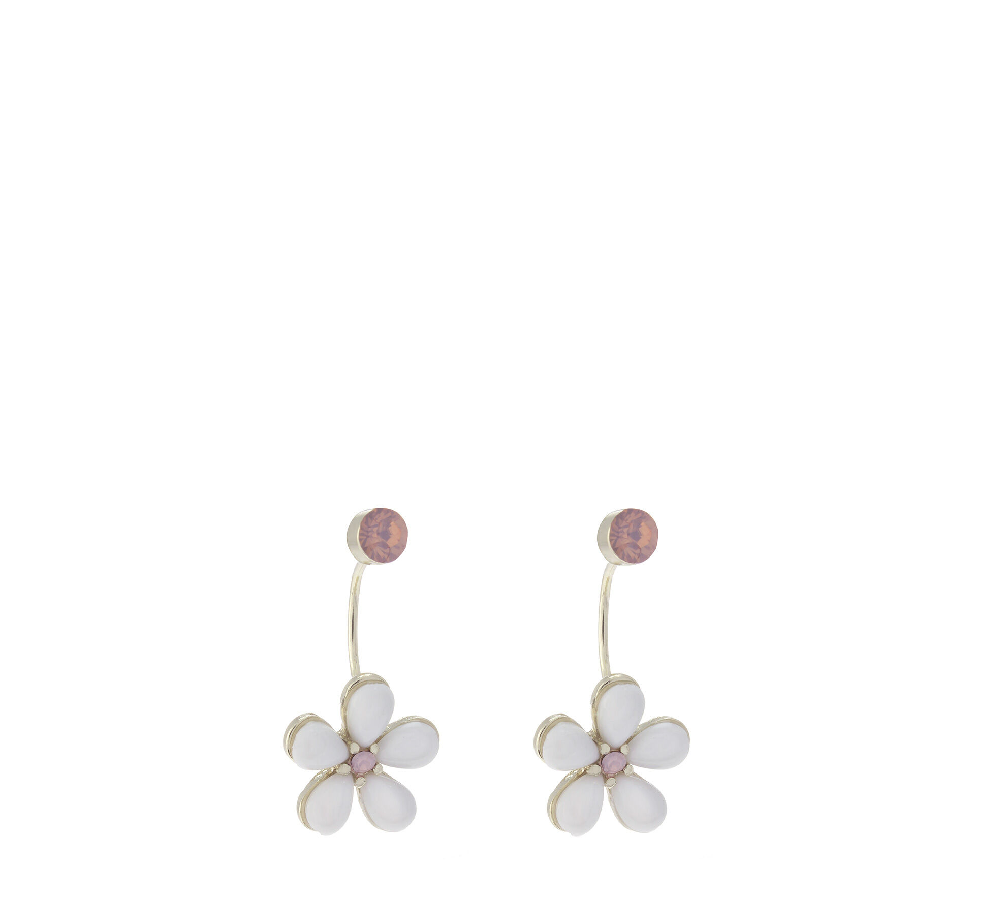 Oasis, Resin Flower Under Ear White 0