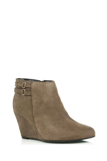 Oasis, MIA WEDGE BOOT Mid Neutral 0