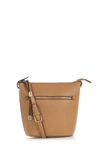 Oasis, BOBBIE BUCKET BAG Tan 0