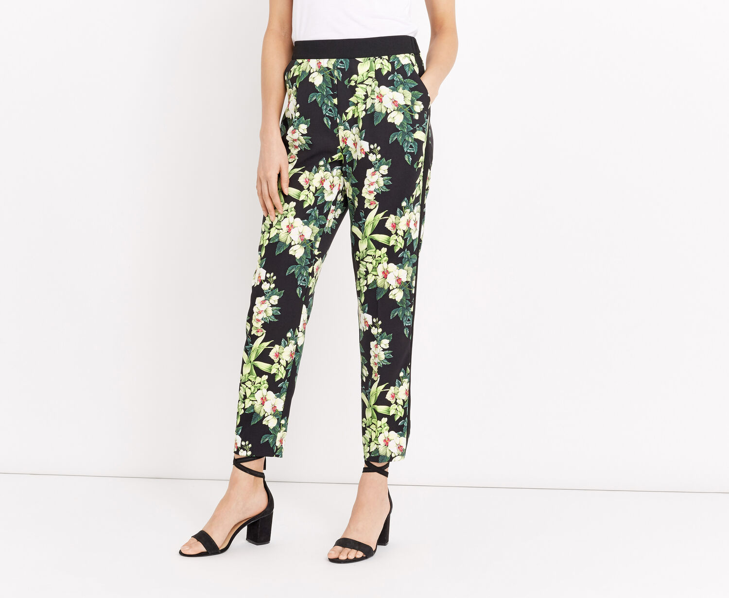 Oasis, TROPICAL BOTANICAL TROUSERS Multi 1
