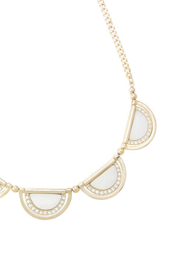 Oasis, SHELL AND SPARKLE NECKLACE Cream 2