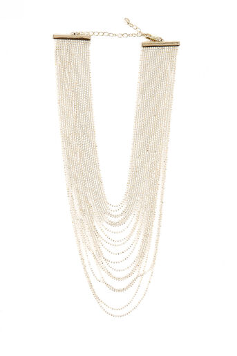 Oasis, LAYERED CHAIN CHOKER Gold 0