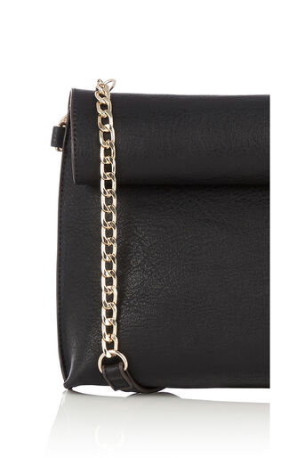 Oasis, REVERSIBLE CLUTCH BAG Multi Black 3