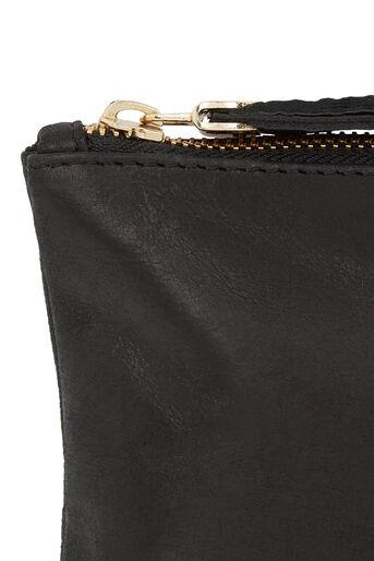 Oasis, Leather Layla Purse Black 1