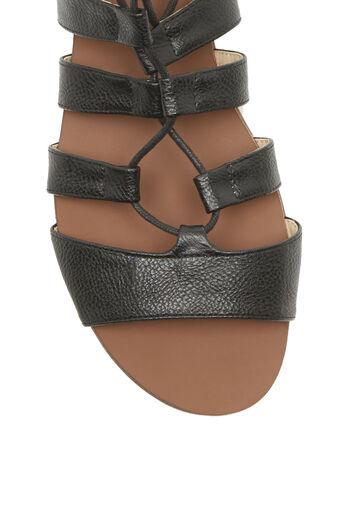 Oasis, Gracie Lace Up Sandal Black 3