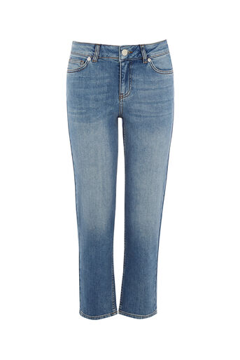 Oasis, LUCIE STRAIGHT LEG Light Wash 0