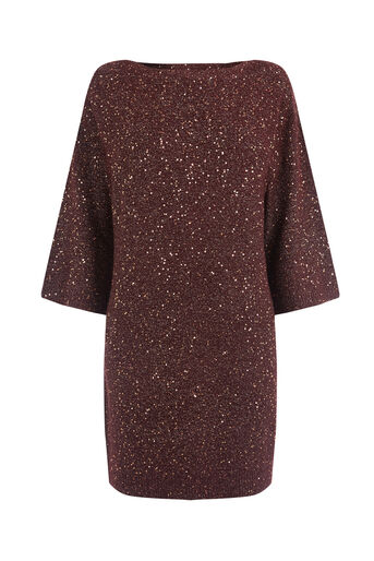 Oasis, Sequin yarn dress Multi 0