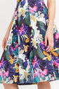 Oasis, TROPICAL MIDI SKIRT Multi Blue 4