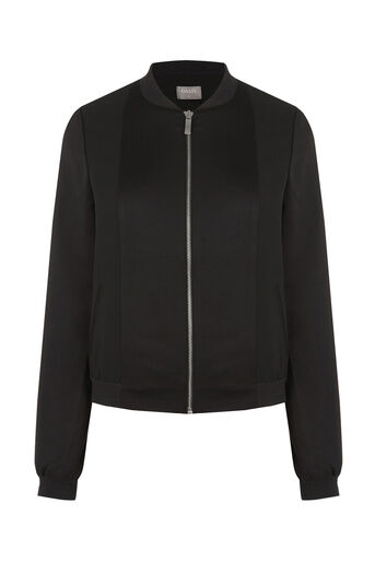 Oasis, SATIN BOMBER Black 0