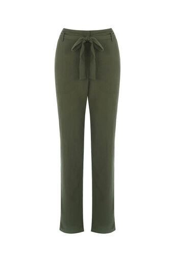 Oasis, Soft casual trouser Khaki 0