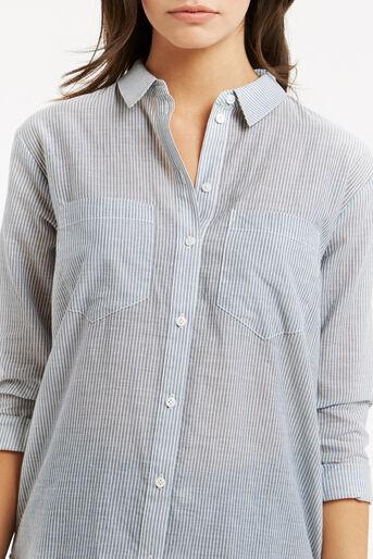 Oasis, Ticking Stripe Shirt Multi 4