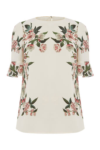 Oasis, ROYAL WORCESTER FLUTE SLEEVE T Off White 0