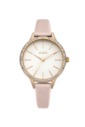 Oasis, Stone Border Watch Pale Pink 0