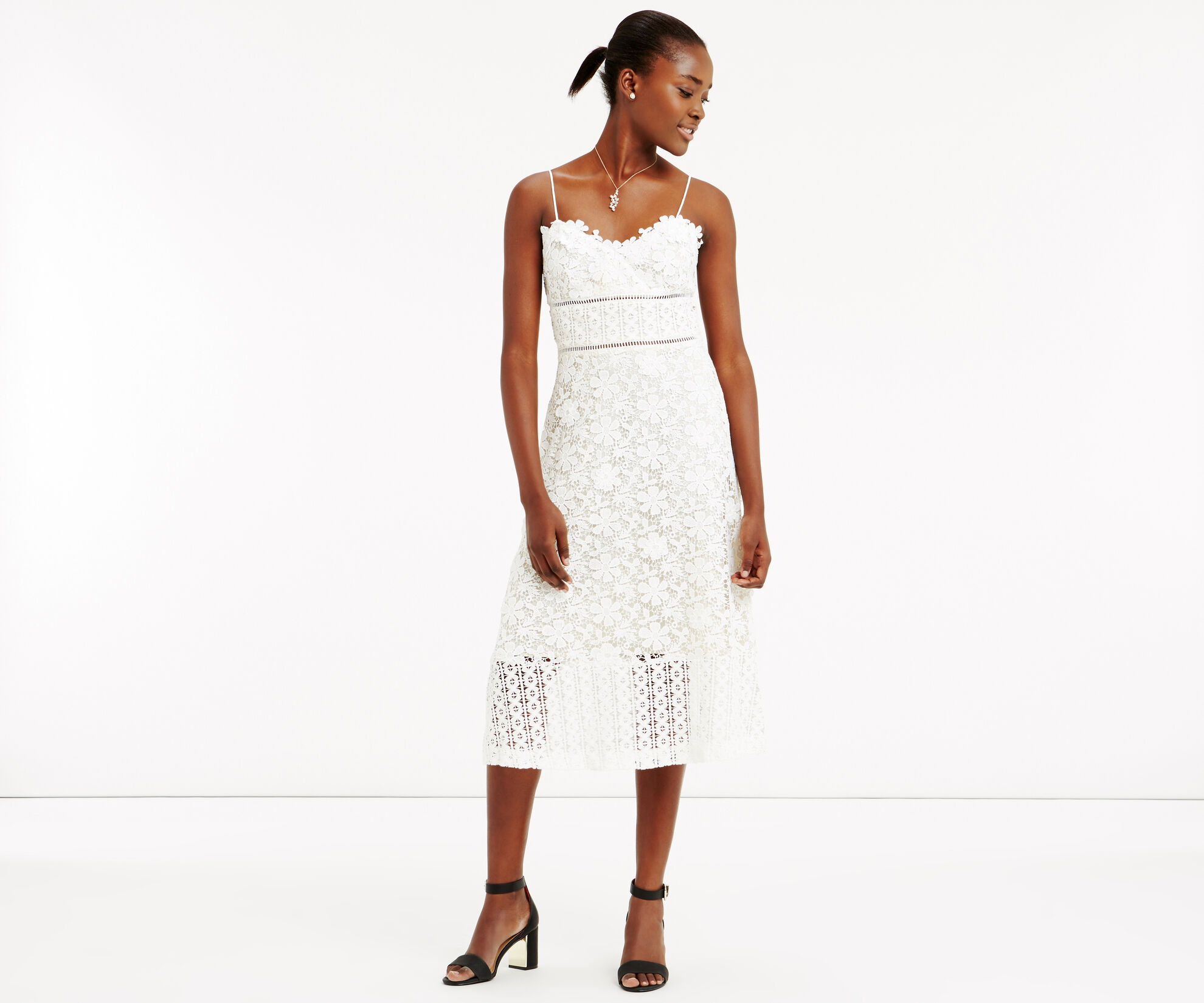 Oasis, LIMITED EDITION LACE CAMI DRES Cream 1
