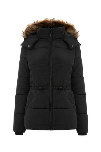 Oasis, SPORTY PADDED JACKET Black 0