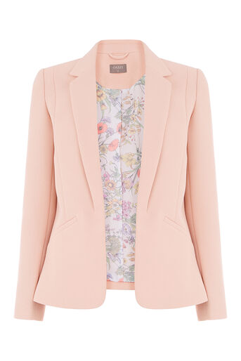 Oasis, TAILORED EVENT BLAZER Mid Neutral 0