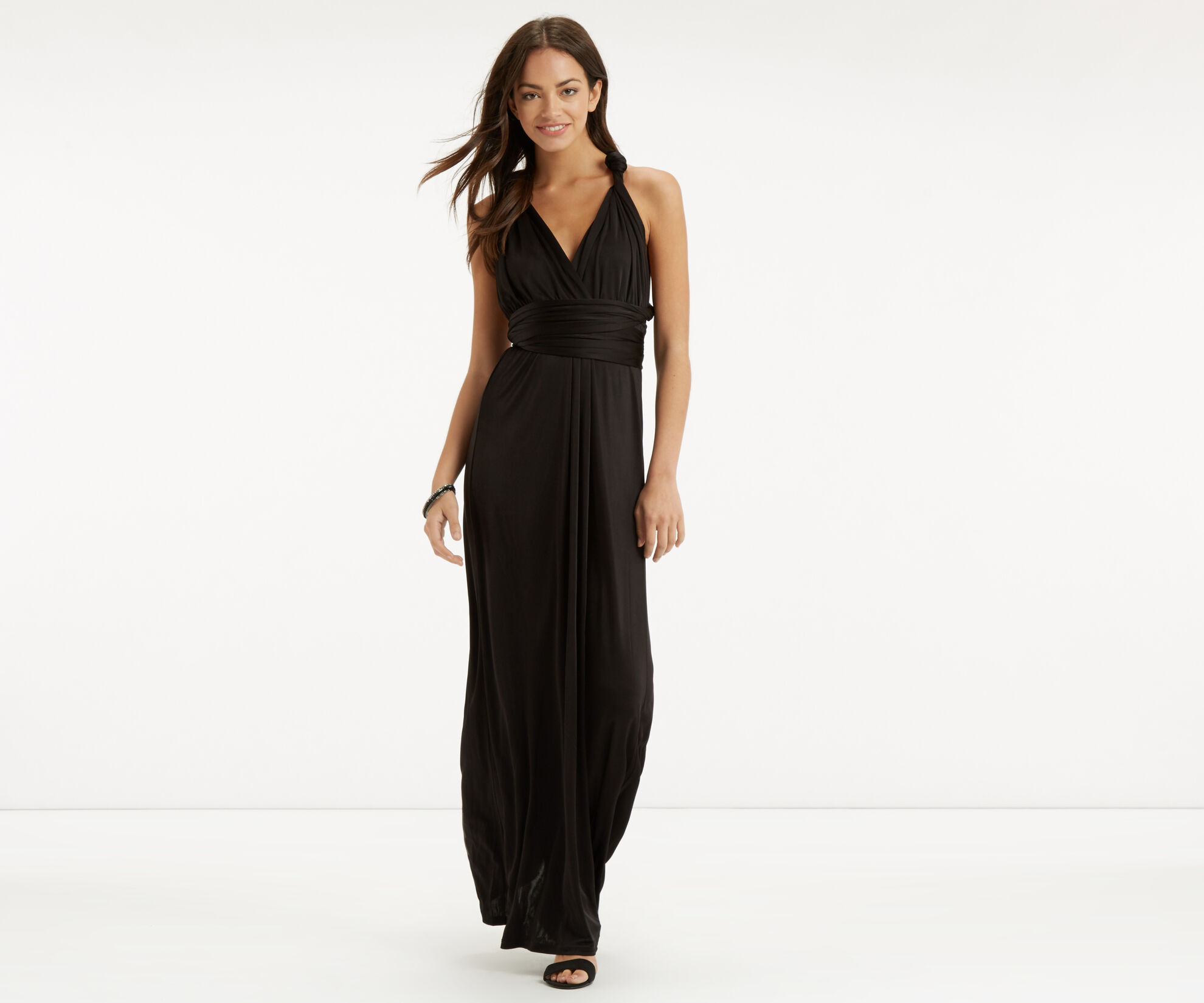 Oasis, The Wear it Your Way Dress Black 1