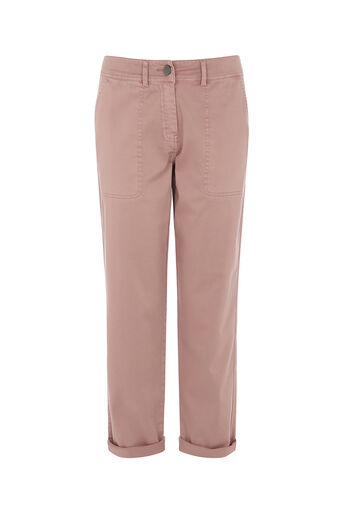 Oasis, CARGO TROUSERS Pale Pink 0