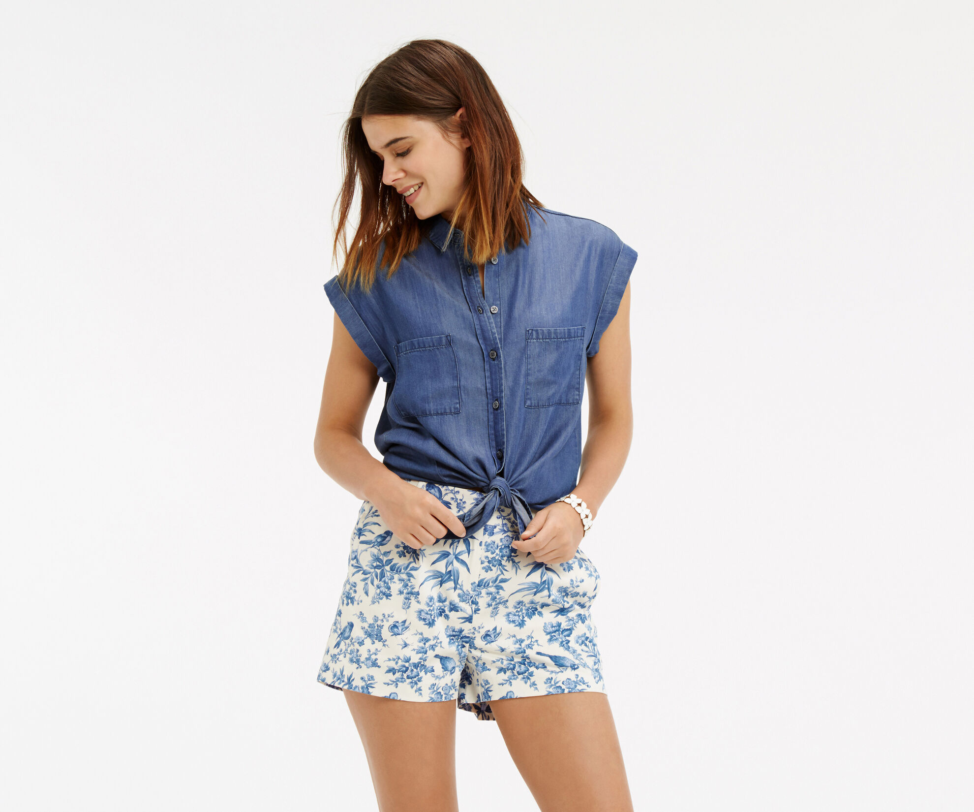 Oasis, Taylor Shirt Denim 1