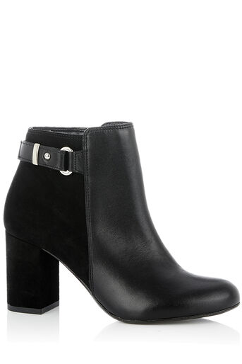 Oasis, FLO HIGH ANKLE BOOT Black 0