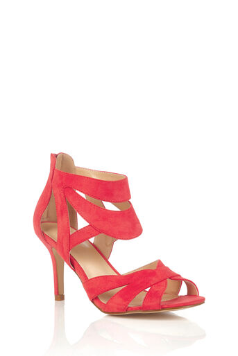 Oasis, HATTIE STRAPPY SANDAL Coral 0