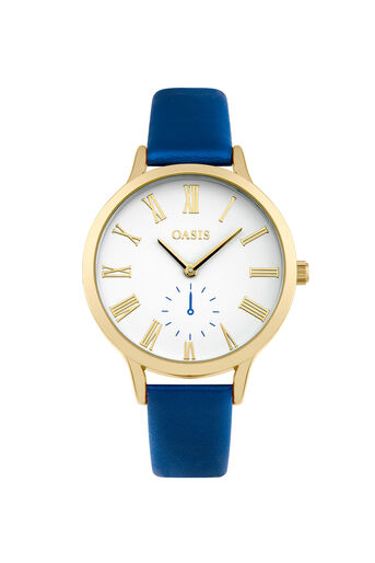 Oasis, Matte Dial Watch True Blue 0