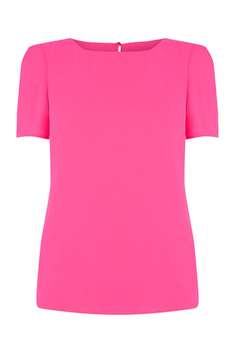 Oasis, Formal T-Shirt Mid Pink 0