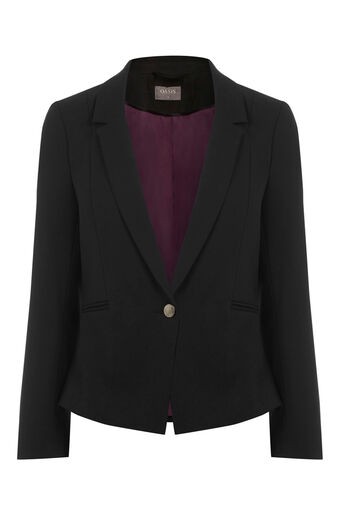 Oasis, CLARA WORKWEAR JACKET Black 0