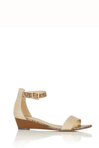 Oasis, Wedge Sandal Multi Natural 0