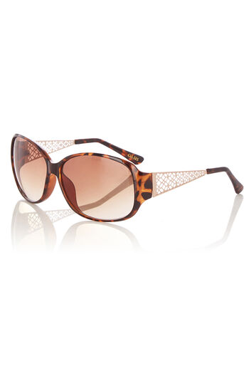 Oasis, ISSY SUNGLASSES Mid Brown 0