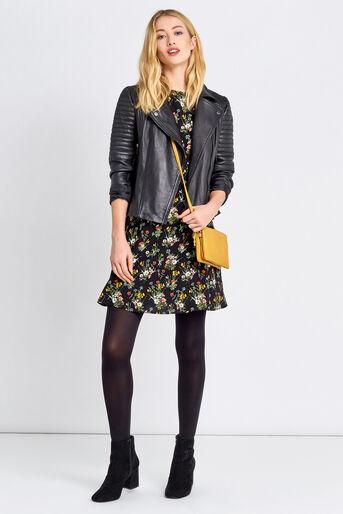 Oasis, SPRING BOUQUET SKATER DRESS Multi Black 2