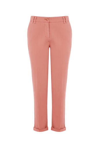 Oasis, EMMY CHINO TROUSER Dusky Pink 0