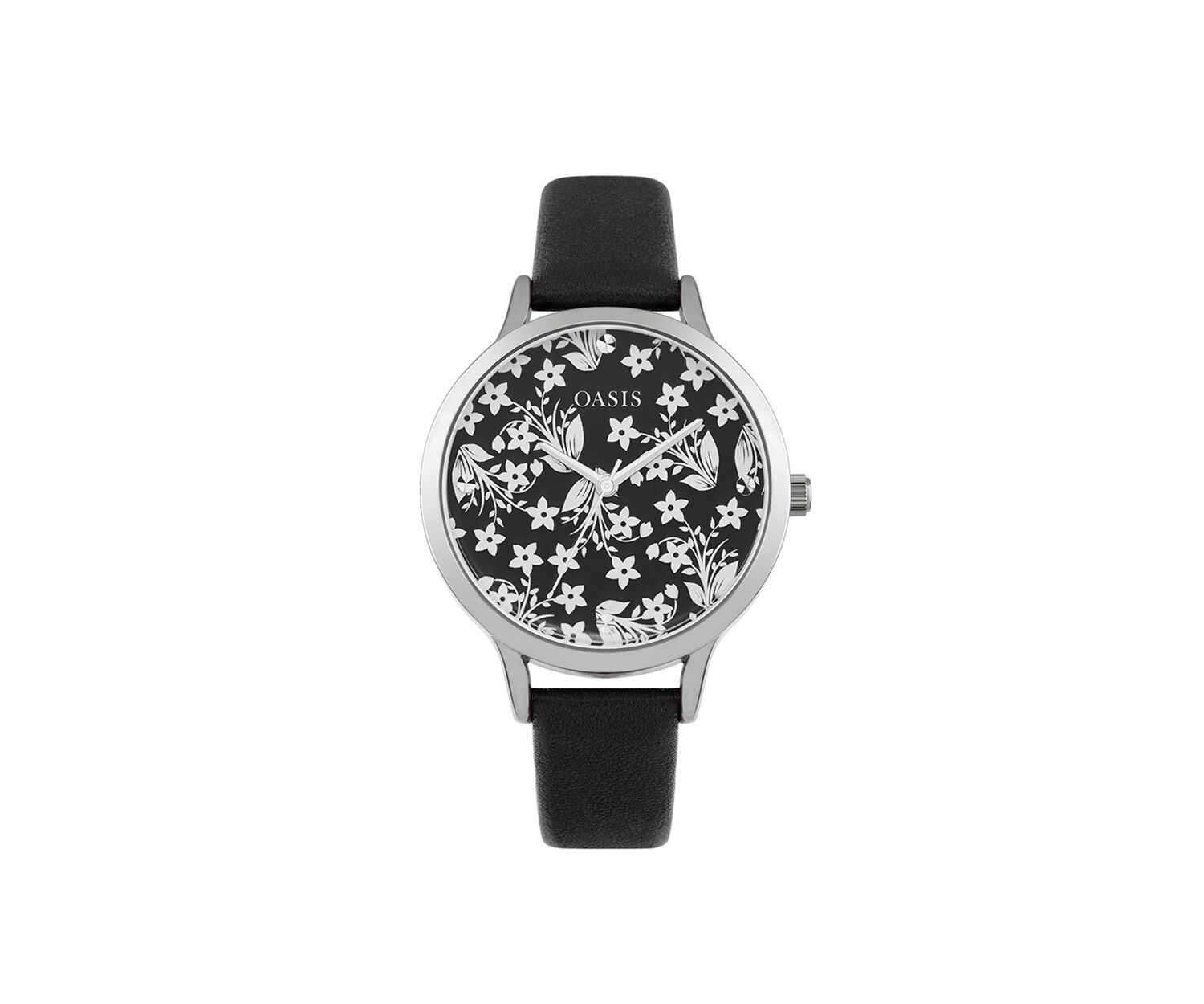 Oasis, Mirror Dial Watch Black 1