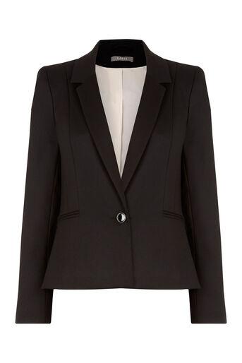 Oasis, Alba Workwear Jacket Black 0